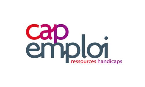 Logo et lien Cap Emploi