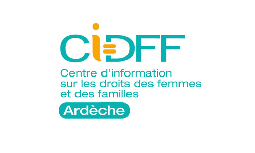 Logo et lien CIDFF Ardèche