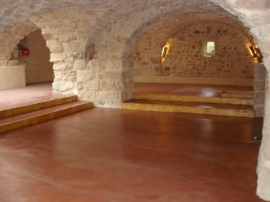 Salle voutée