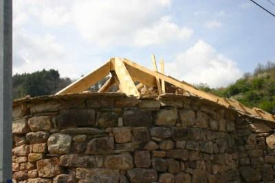 Restauration chapelle - charpente