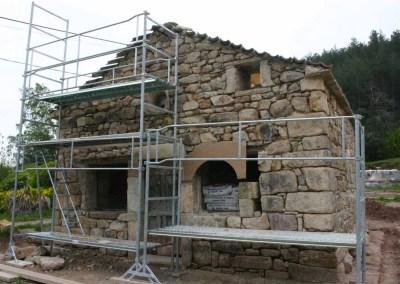 Restauration chapelle de Joux à Chassiers