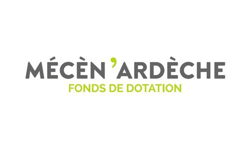 Logo et lien Mécèn'Ardèche