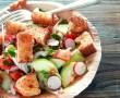 Tian de légumes au crottin de Chavignol