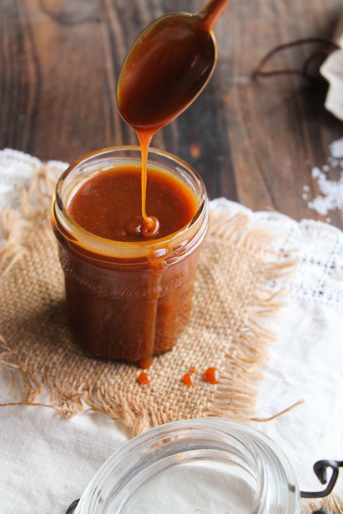 Caramel beurre salé à la fleur de sel