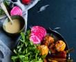 Verrine de gâteau aux agrumes, coco et passion {sans gluten – sans lait}