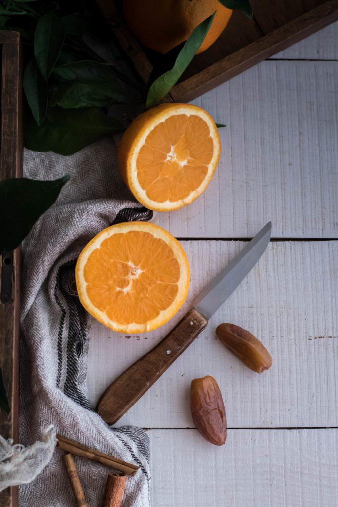 recette oranges et dattes