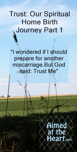 T is for Trust: Our Spiritual Home Birth Journey (Part 1)