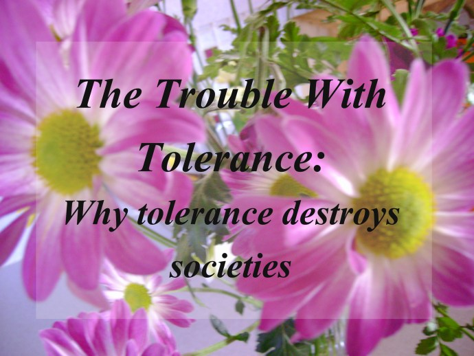 trouble with tolerance
