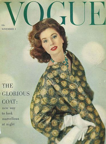Suzy Parker Vogue Cover
