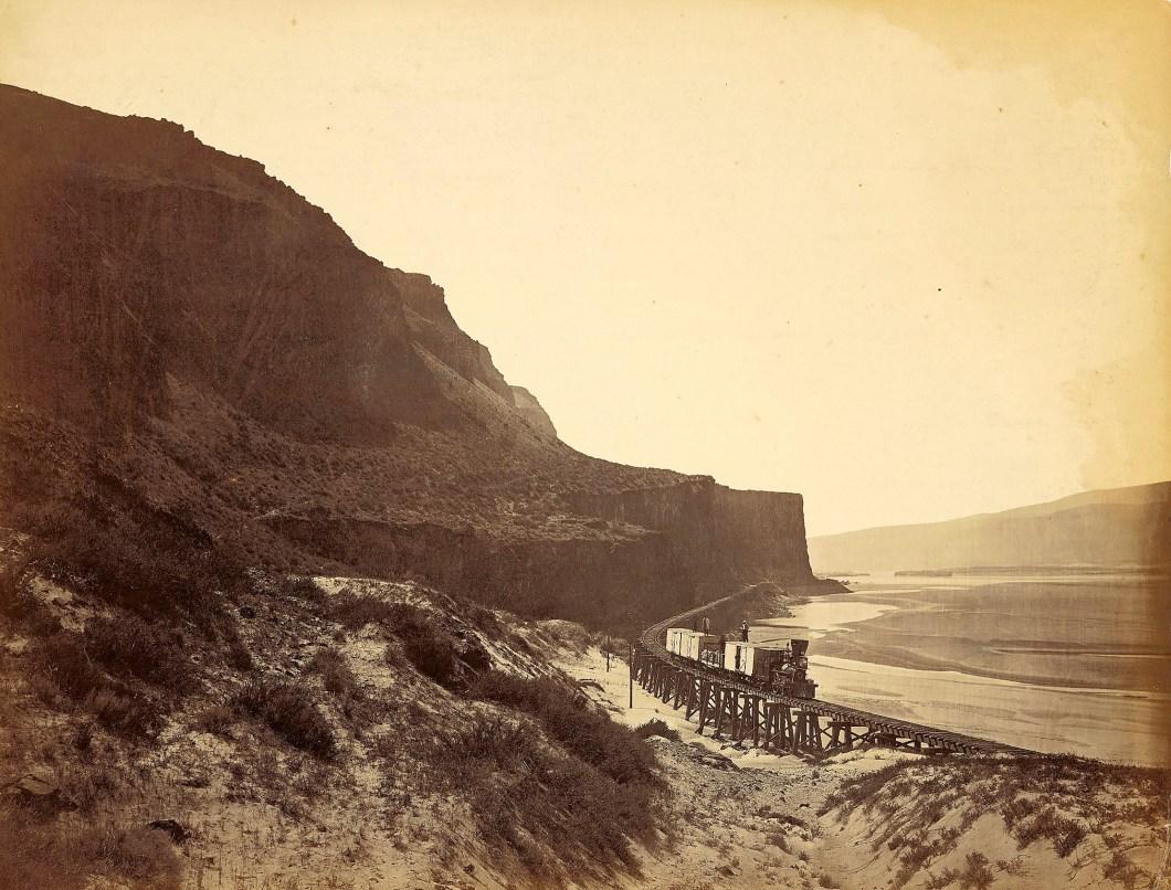 Cape Horn Near Ceillo, 1867. Crocker Art Museum, gift of Barbara Morgans Powers, 1973.37.5.