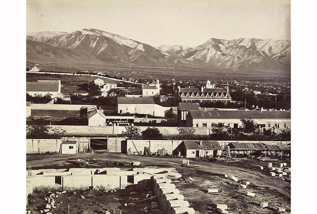 Salt Lake City from the top of the Tabernacle