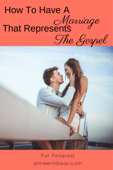 Have you ever wondered what the perfect marriage is supposed to look like? Or how we are to have a marriage that reflects the gospel? In 2 posts, I explain the concept of reflecting the gospel message in our marriages.
