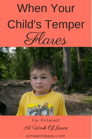Does your child have a temper? Are you struggling to manage them? Here is what I learned about my son's temper and how we overcame the problem...together. Christian parenting