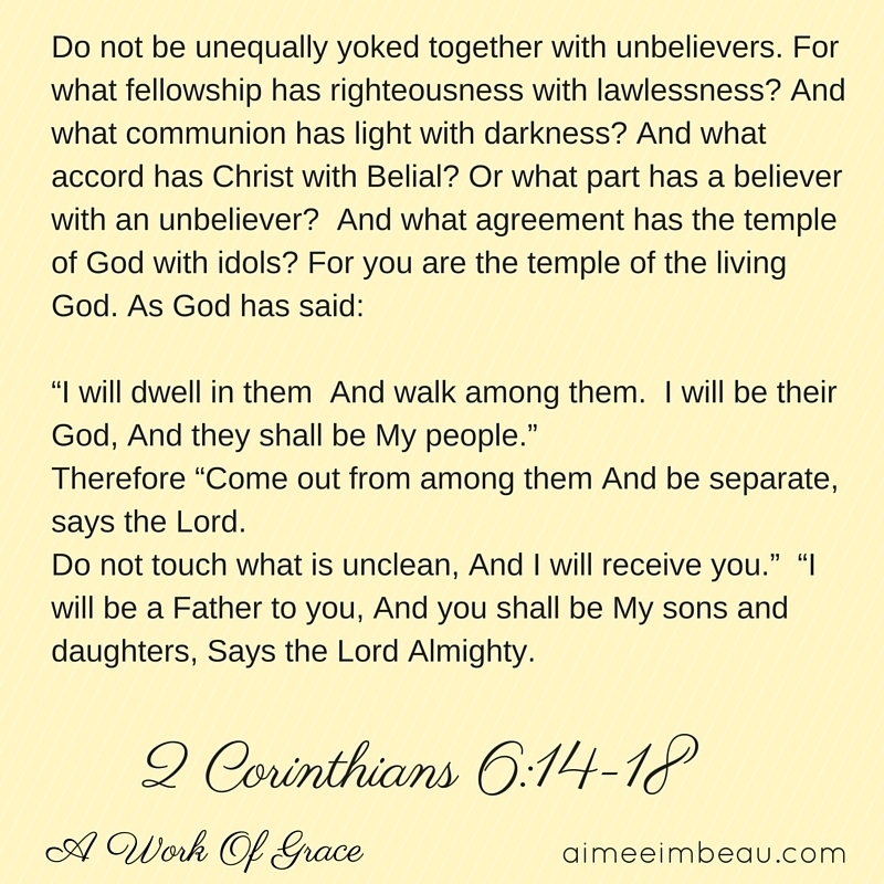 What god says about relationships