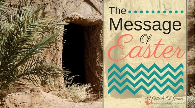 Has the Easter story become just another ritual for you? Have you lost the Truth of this story and it's significance for you? Maybe your soul is too tired to have the Hope of Easter. do you need this story renewed? Do you need the truth spoken to your heart? The Message Of Easter