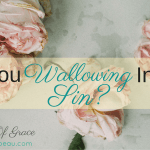 Are You Wallowing In Your Sin?