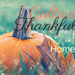 Having An Attitude of Gratitude As A Homeschool Mom
