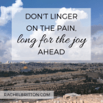 Grace & Truth ~ When We Focus On The Pain Instead of the Joy