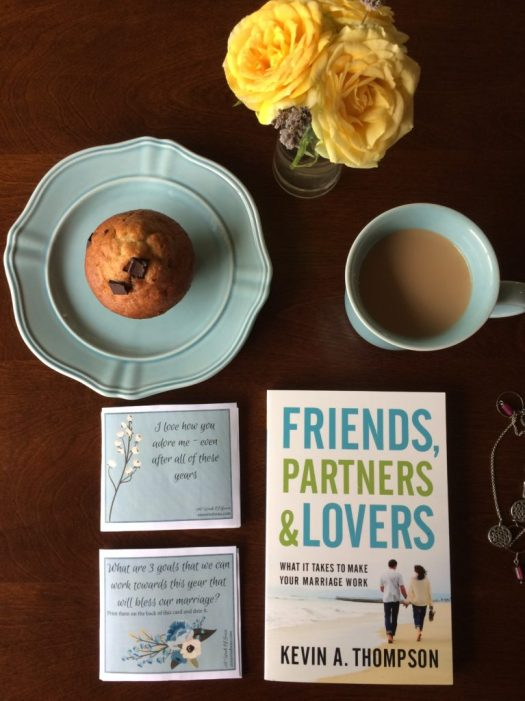 The biggest cause of divorce is apathy – or basically just giving up on the marriage. Kevin Thompson gives practical advice and insight on how to make your marriage work in his book Friends, Partners & Lovers.