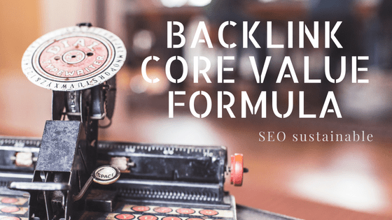 Backlink Core Value