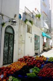 Fruit Vendor in Capri