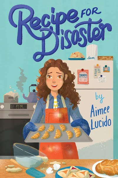 Recipe for Disaster, by Aimee Lucido (book cover)