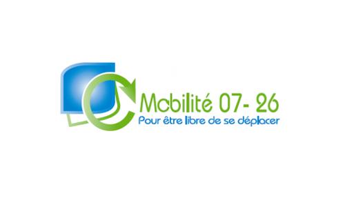 Logo et lien Mobilité 07-26