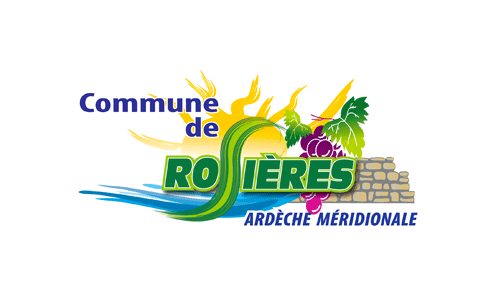 Logo et lien Mairie de Rosières