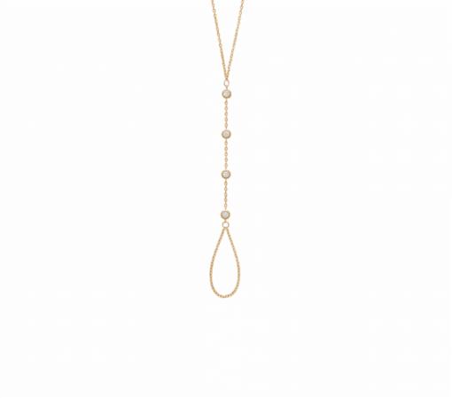 Bague Bracelet Victoria plaqué or 18K 3 microns diamant zirconium Aimée Private Collection tendance influenceuse bijoux fantaisie femme
