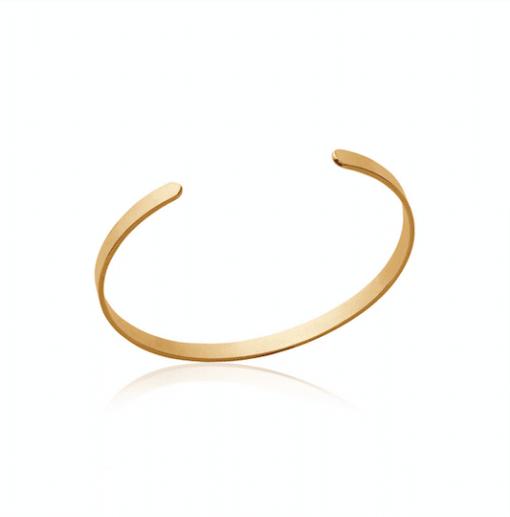 Jonc Must en plaqué or 18K 3 microns Aimée Private Collection bracelet femme influenceuse bijoux fantaisie