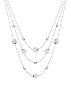 Collier Tal argent 925 rhodié triple collier Aimée Private Collection tendance influenceuse bijoux fantaisie mode