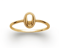 Bague Pia en plaqué or 18k 3 microns Aimée Private Collection nouveau modèle influenceuse tendance élégance bijoux fantaisie