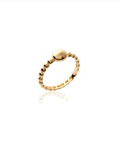 Bague Moove en plaqué or 18k 3 microns Aimée Private Collection nouveau modèle influenceuse tendance élégance bijoux fantaisie