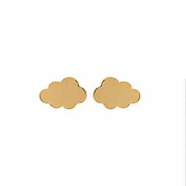 Boucles d'oreilles Cloud nuage plaqué or 18K 3 microns Aimée Private Collection nouveau modèle influenceuse top tendance