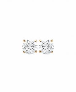 Boucles d'oreilles Halvie plaqué or 18K 3 microns serti Diamant Zirconium Aimée Private Collection nouveau tendance influenceuse