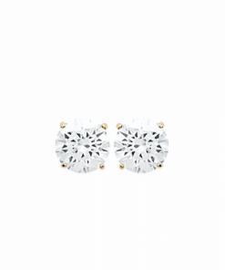 Boucles d'oreilles Dyna plaqué or 18K 3 microns serti Diamant Zirconium Aimée Private Collection nouveau tendance influenceuse