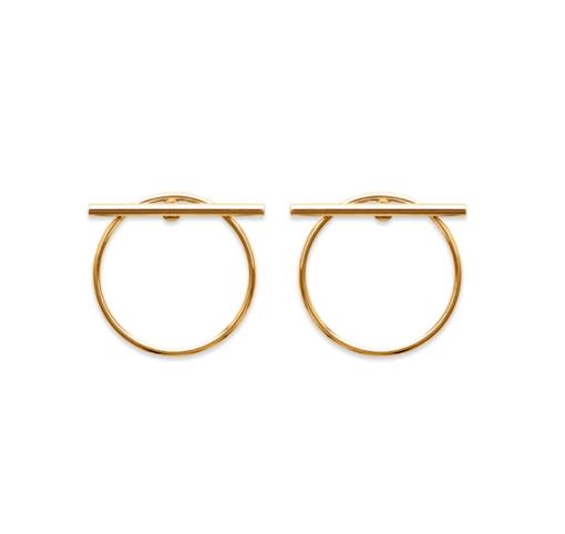 Boucles d'oreilles Dile plaqué or 18K 3 microns Aimée Private Collection nouveau modèle tendance influenceuse