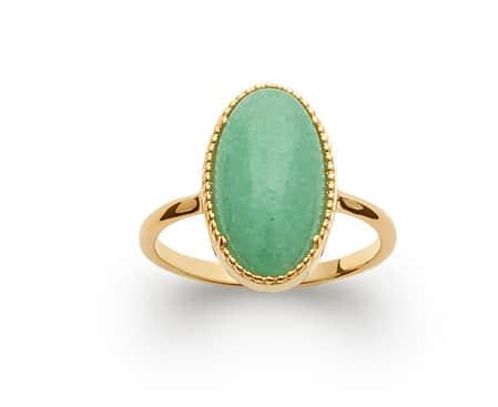 bijoux bague color pierre aventurine vert collier aimee private collection bijoux pas cher plaqué or argent mode femme boucles d'oreilles accessoire bracelet