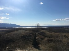 Looking out over the Knik Arm