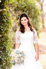 Southern Bride Portrait