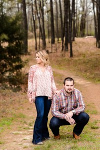 middle Georgia engagement session