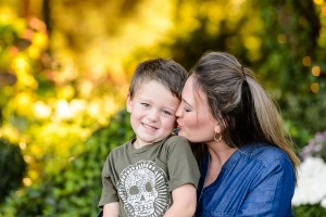 Mother and Son share a sweet moment - Family Portrait