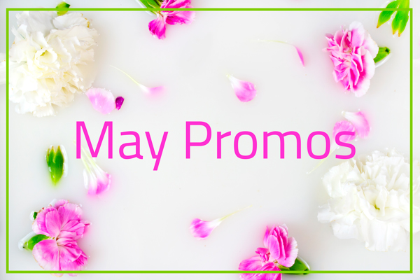 May Promos at Aimee's Nail Studio
