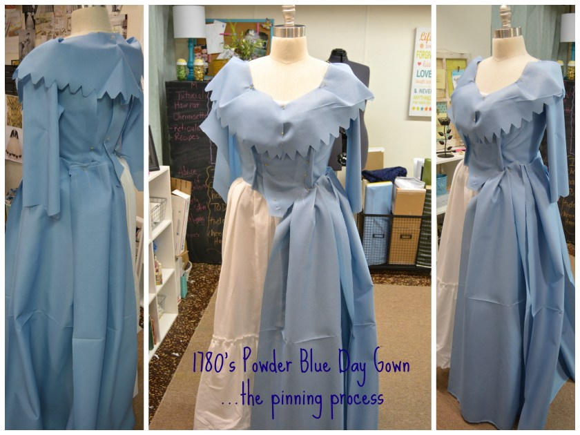 1780's day gown