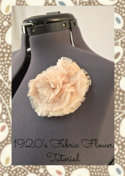 March fabric flower cover