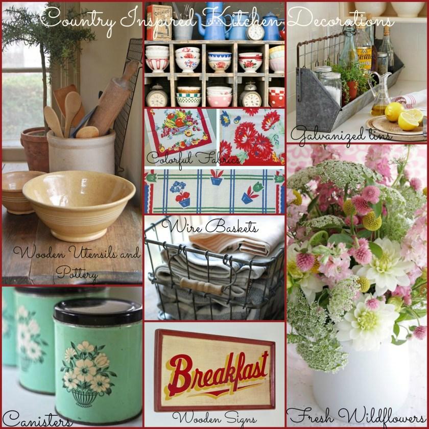 april kitchen decorations