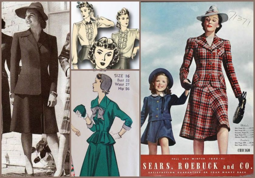 1940's suit inspiration