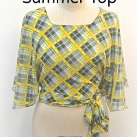 1930's One Hour Summer Top