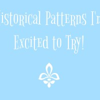 Historical Patterns I'm Excited to Try!