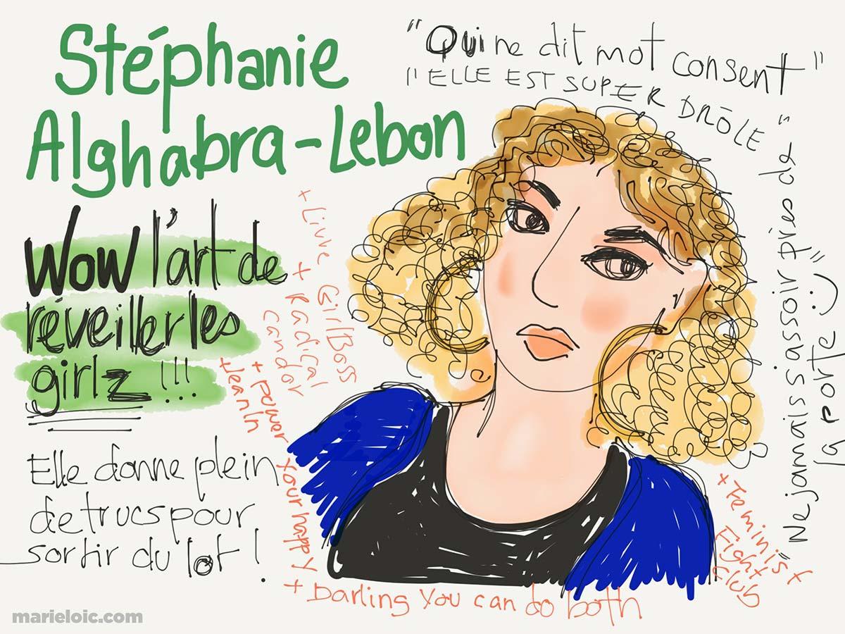 Stéphanie A-Lebon par Marie-Loic Sénamaud